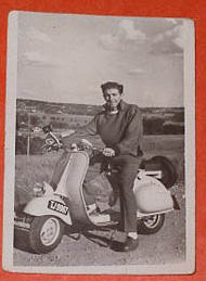 Louis the Scooterer's last ride