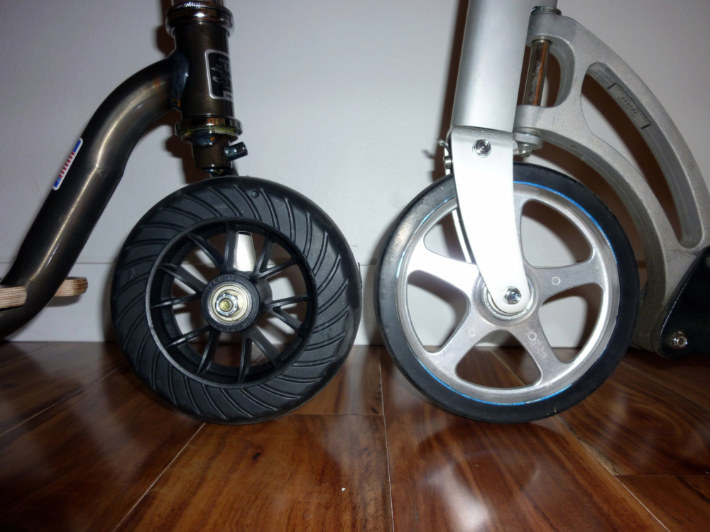 KickPed versus Xootr, a scooter review