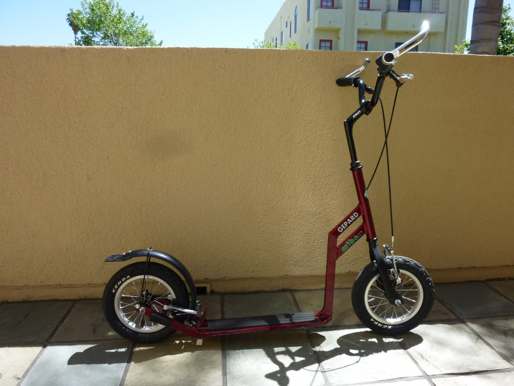 The Mibo Gepard Kick Scooter Review