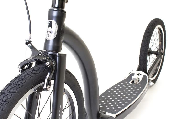 The new all-terrain commuter scooter