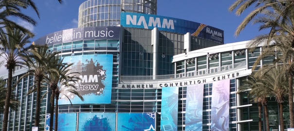 NAMM 2016 – A quest for a compact multipad drum kit