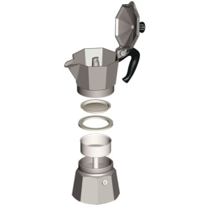 Parts The Ideal Cup Of Coffee From A Moka Pot Is Strong Clean Dark Hot Black But Does Not Have Crema Espresso Or Any Foam Bubbles